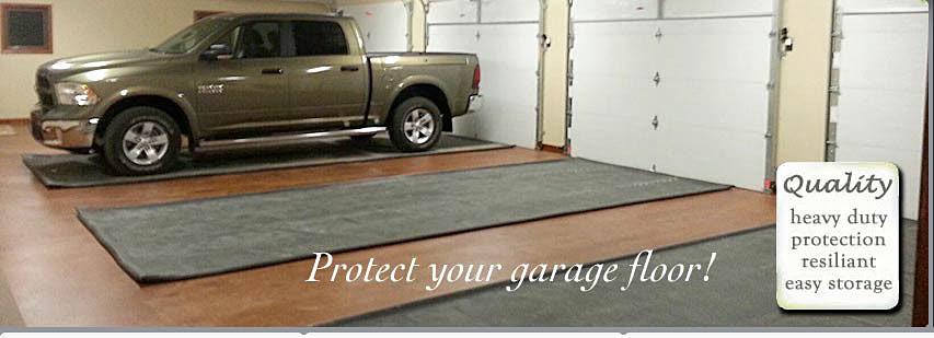 Rubber Garage Floor Mats Car